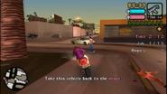 Acaparamiento robando la moto