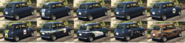 Issi Classic pinturas atrás GTA Online