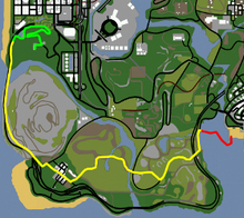 Beat the Cock SMB-mapa