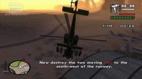 GTA San Andreas - Pilot School 7 - Destroy Targets (HD)