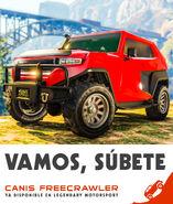 Freecrawler poster latino