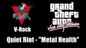 """GTA Vice City Stories - V-Rock Quiet Riot - """"Metal Health"""""""