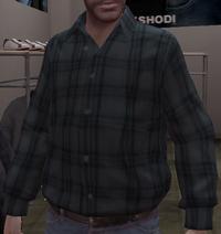 Camisa escocesa GTA IV