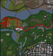 GTA SA Badlands B Mapa