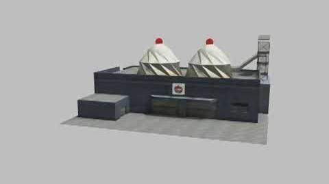 GTA Vice City - The Lab - Cherry Popper's 360 Building Render