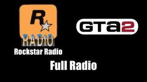 GTA 2 (GTA II) - Rockstar Radio Full radio