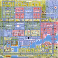 Mapa de San Andreas gta 1