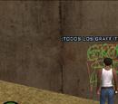 100 grafitis