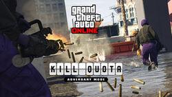 """GTA Online - Modo Adversario """"Cuota de sangre"""""""