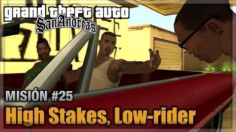 GTA San andreas - Misión 25 - High Stakes, Low rider (Español - 1080p 60fps)