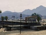 Motel abandonado de Sandy Shores