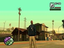 GTA San Andreas Beta Grove Street 5