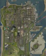 Mapa de San Fierro en 3D