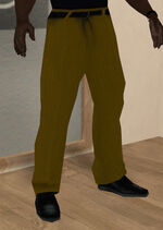 Pantalon amarillo