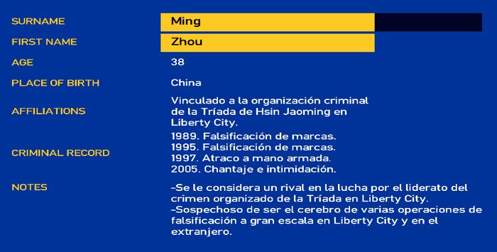Zhou ming