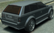 Huntley Sport detrás GTA IV