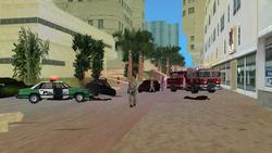 Bomberos Centro de la ciudad