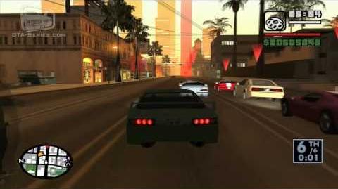 GTA San Andreas Street Race - Freeway (HD)