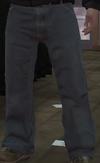Pantalones vaqueros azules GTA IV