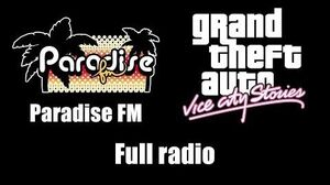 GTA Vice City Stories - Paradise FM (Rev