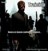 Traición-Poster