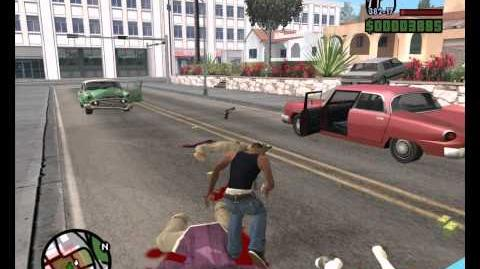 Grand Theft Auto-San Andreas All-terrain take down MISSION 24 HD