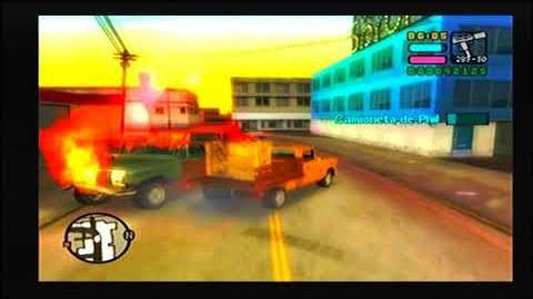 GTA VCS PS2 MISIÓN 13 EN EL PUNTO DE MIRA
