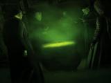 Ceremonia de iniciación de Draco Malfoy como mortífago