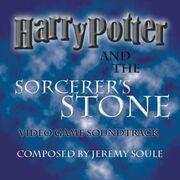 Carátula de la banda sonora de Harry Potter y la piedra filosofal