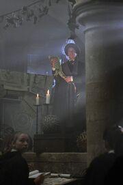 P1 Quirrell dando clases en Hogwarts