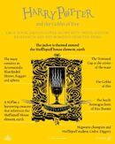 HP4 explicación portada Hufflepuff EN