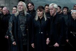 Lucius, Draco y Narcissa