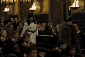 Igor Karkarov llega a Hogwarts