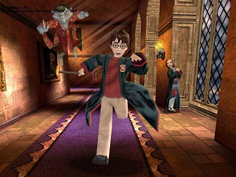 Imagen V2 Harry Perseguido Por Peeves Jpg Harry Potter Wiki