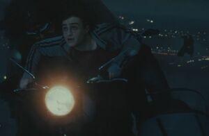 P7 Hagrid+Harry perseguidos