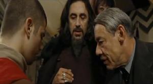 Karkarov, Krum y Crouch eligiendo el dragón