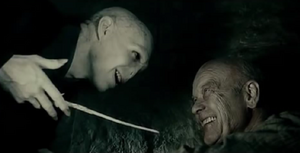 Grindelwald antes de morir