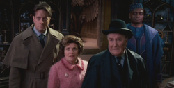 Arresto de Dumbledore Ministerio