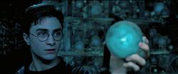 Harry con la Profecía