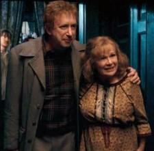 Arthur y Molly Weasley en 1995