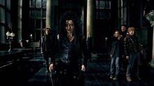 Bellatrix ve la espada