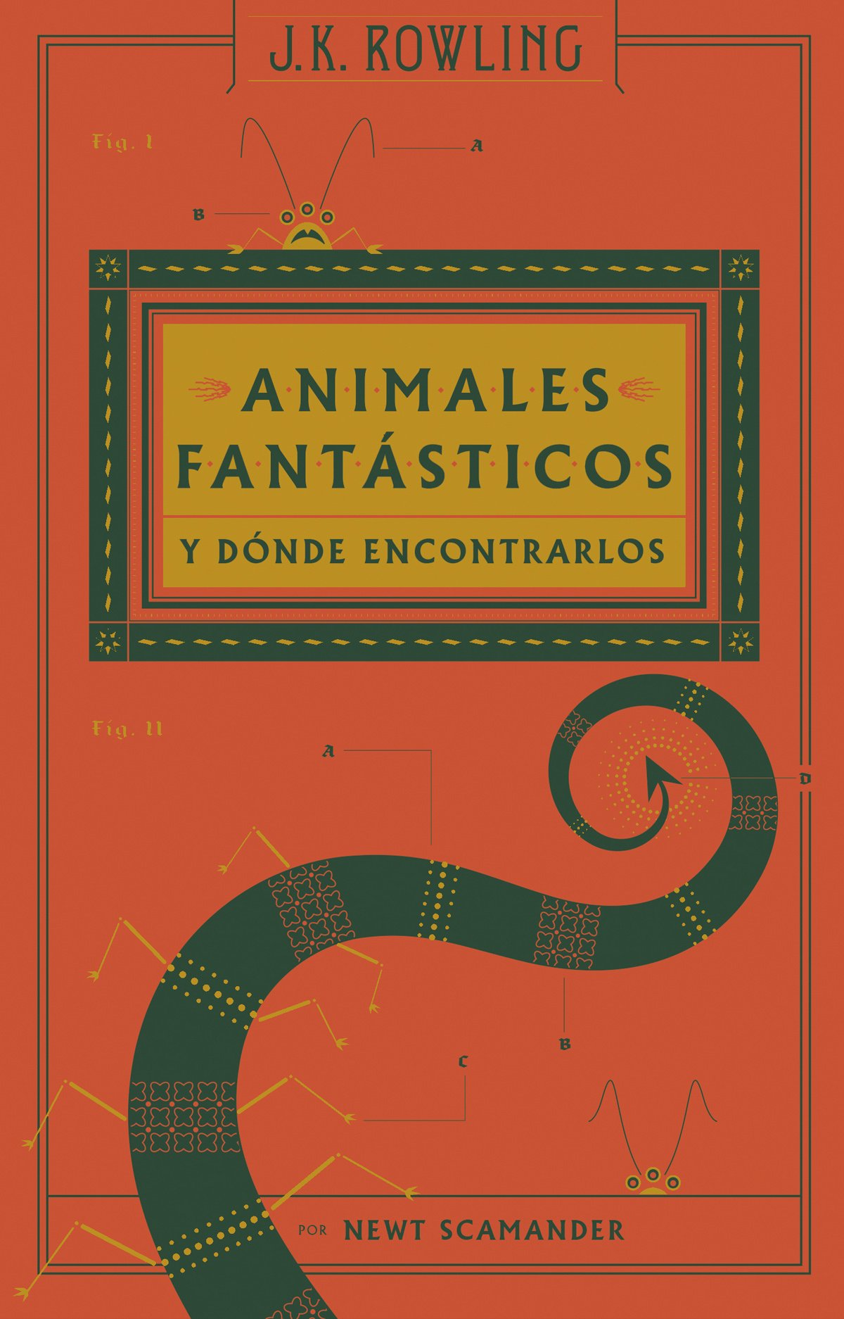 Animales fantásticos y dónde encontrarlos (real)