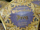 Rana de chocolate