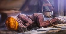 Ghoul Weasley en pijama