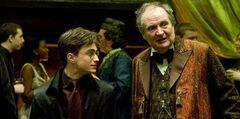 Slughorn y Harry