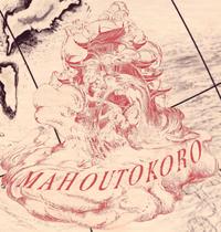 Mahoutokoro mapa