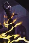 Voldemort usando una cuerda de fuego