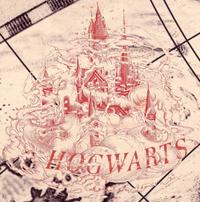 Hogwarts mapa