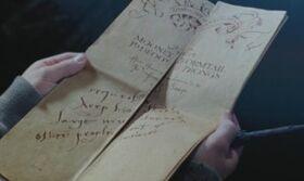 Mapa Insultando a Snape.