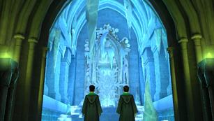 Entrada a la Bóveda maldita